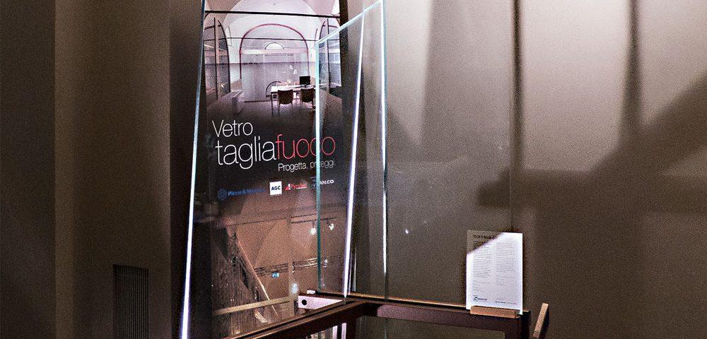 San.co DesignWeek Soluzioni tagliafuoco in legno e vetro