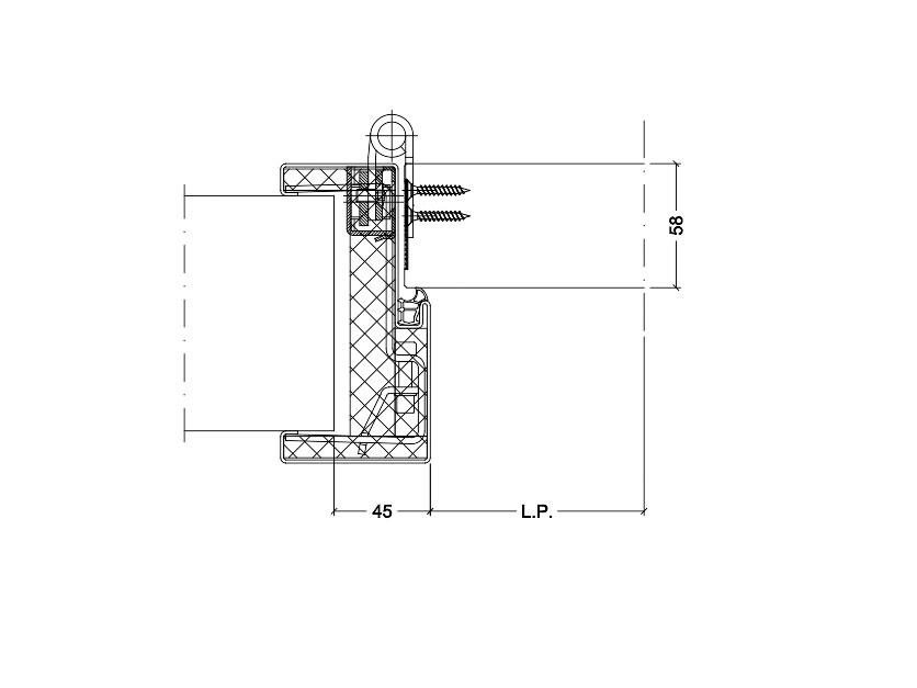 Muro cartongesso spessore minimo trendy clic with muro - Vetrocamera spessore minimo ...