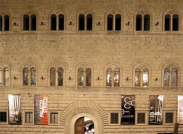 San.co per Palazzo Strozzi Firenze