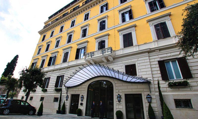 Porte tagliafuoco san co per l hotel eden di roma san co sanco soluzioni tagliafuoco in legno - Hotel eden en roma ...